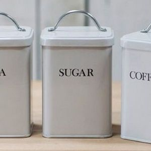Coffee tea and sugar canisters - Coffee tea and sugar canisters ...