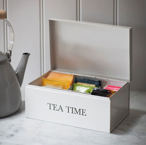 Tea Time Caddy - kitchen accessories