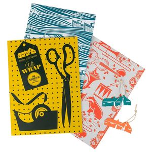Mini Moderns Gift Wrap Book - wrapping paper