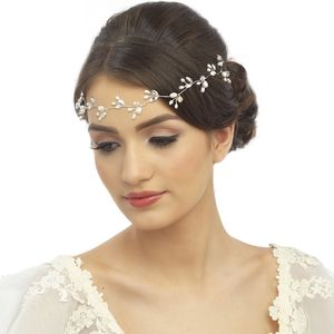 Alice Pearl And Crystal Hair Vine - wedding fashion