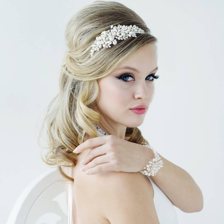 bessie pearl hair band by lola   alice  2da29d0e933