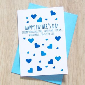 Happy Father's Day From Your Wonderful Child Card - view all sale items
