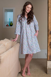 Kaftan Florence Nightdress In Isabel Vintage