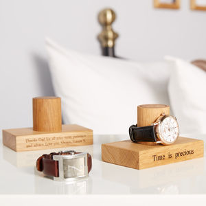 Gent's Single Watch Stand - view all father's day gifts