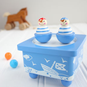 Pirate Wooden Music Box - view all gifts for babies & children