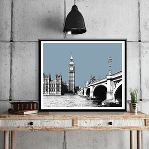 London Art Print Big Ben Limited Edition Print - limited edition art