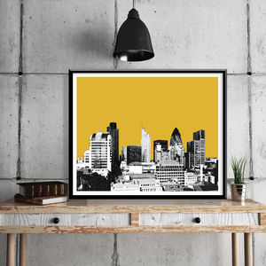 London Skyline Limited Edition Print - limited edition art