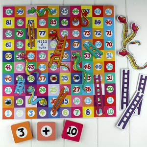 Takes And Adders Snakes And Ladders - educational toys