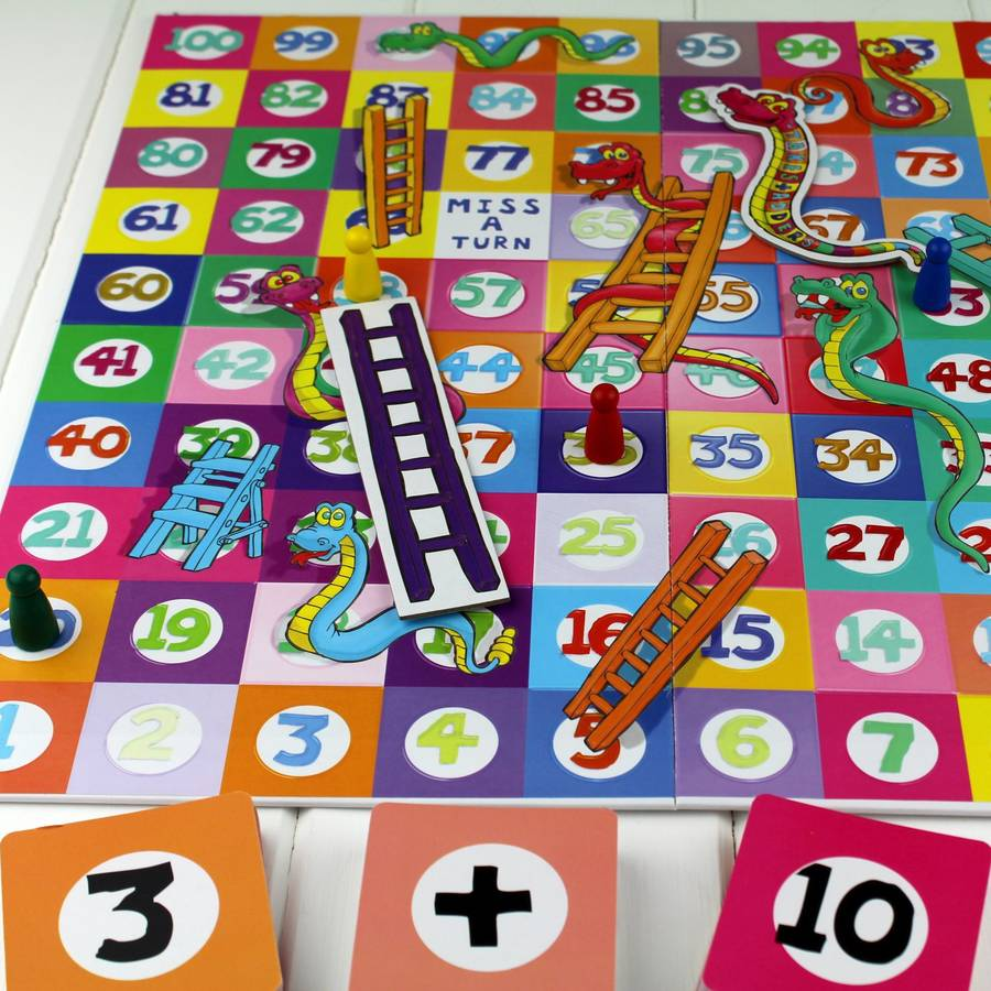 Takes And Adders Snakes Ladders By Nest Notonthehighstreet Com