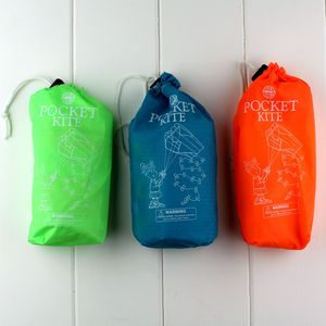 Pocket Portable Kite In Handy Bag - traditional toys
