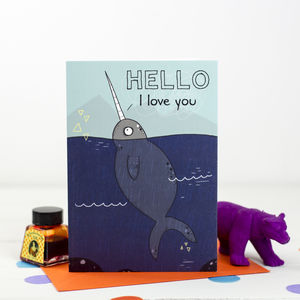 'Hello, I Love You' Card