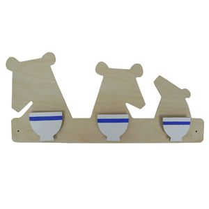 Goldilocks And The Three Bears Clothes Peg