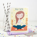 'Yoga Babe' Card