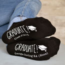 Personalised Graduation Socks - fashion
