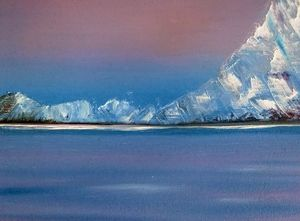 Ice, Original Oil Painting - shop by price