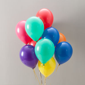 Rainbow Bright Balloon Pack - outdoor decorations