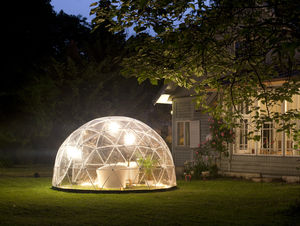 Geodesic Outdoor Garden Room - garden furniture