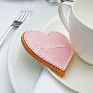 Personalised Wedding Favour Biscuit