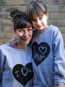 Heart Print Chalkboard Sweatshirt - clothing