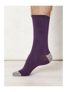 Men's Bamboo Socks Solid Jack