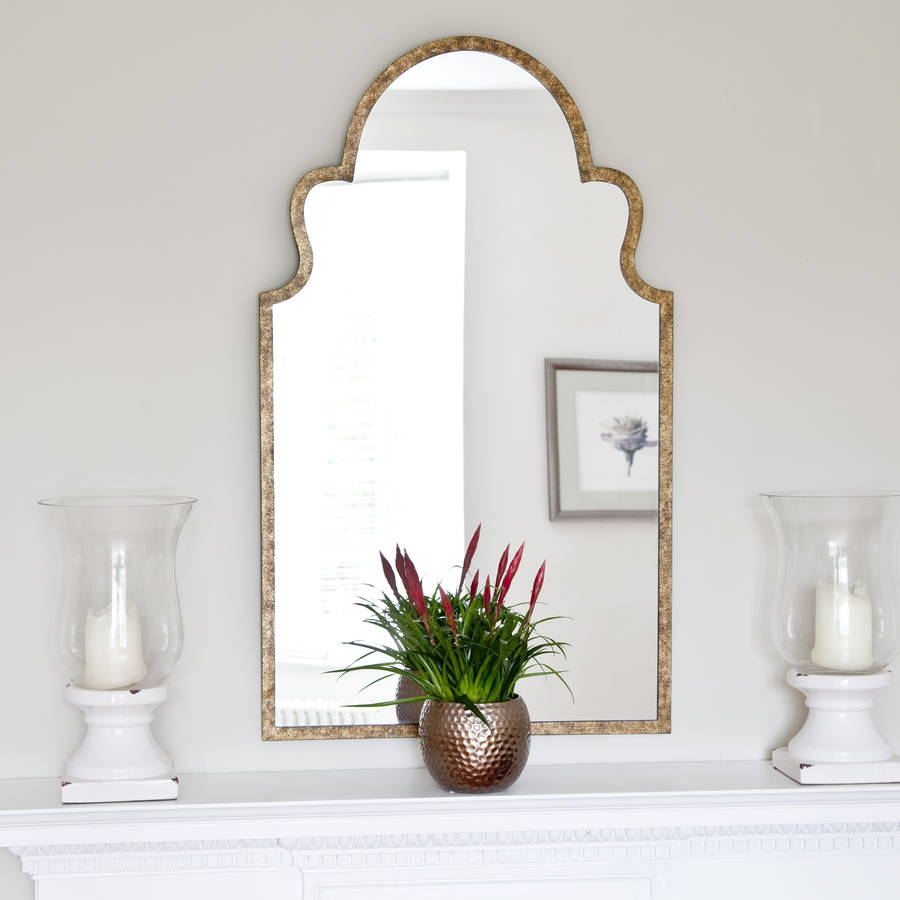 Moroccan Bronze Mirror By Decorative Mirrors Online