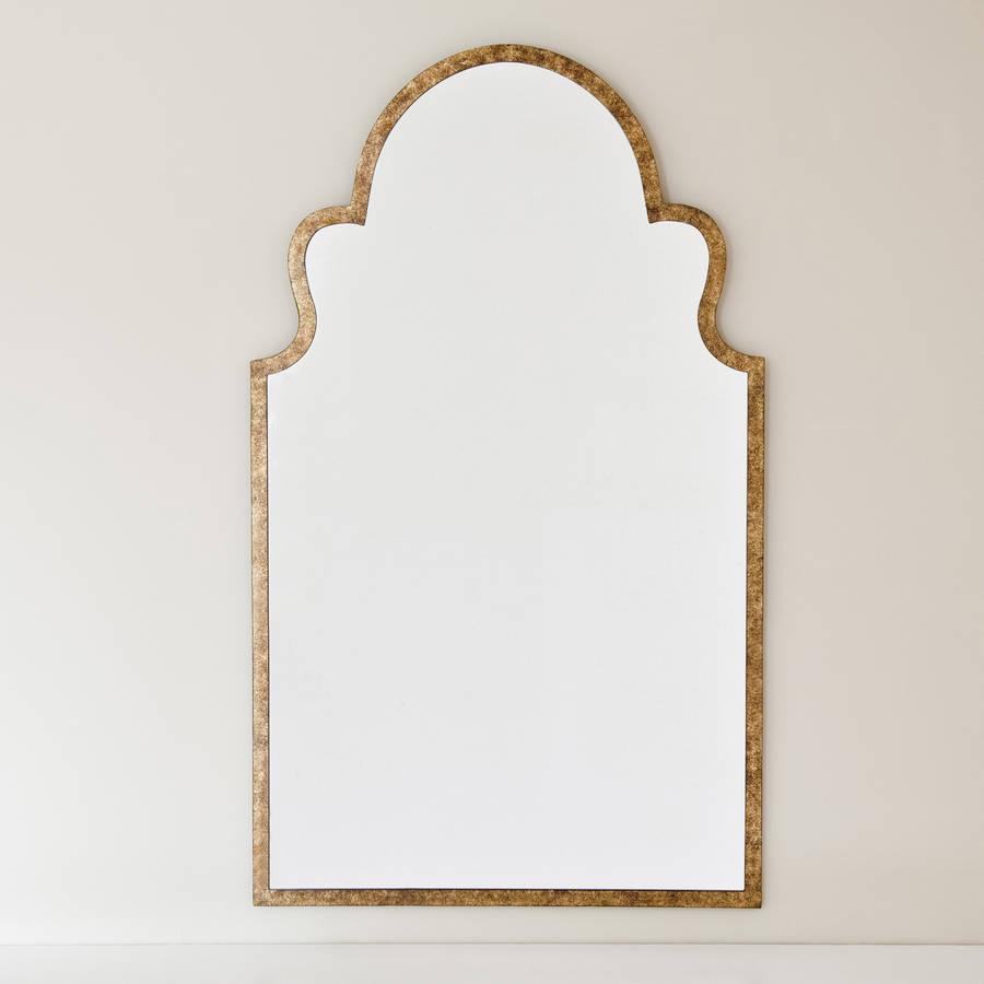 Moroccan bronze mirror by decorative mirrors online for Bronze mirror