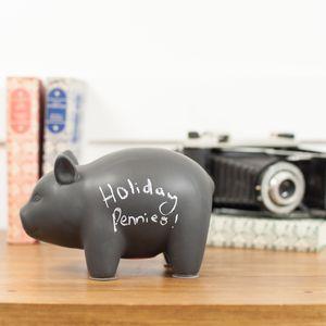 Blackboard Memo Piggy Bank