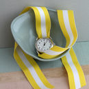 Ribbon Strap Watch