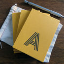 Little Bag Of Personalised Notebooks