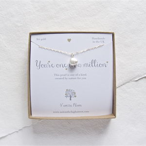 One In A Million Pearl Necklace - necklaces & pendants