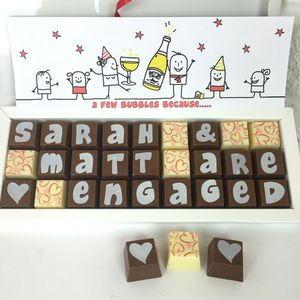 Personalised Congratulations Chocolate Box - chocolates & confectionery