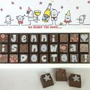 Personalised Congratulations Chocolate Box