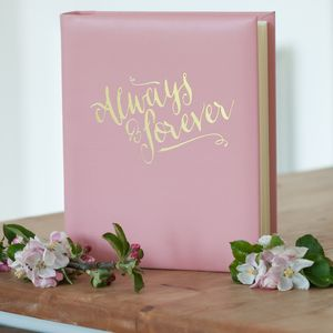Pink Always And Forever Photo Album
