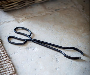 Coal Tongs - fireplace accessories