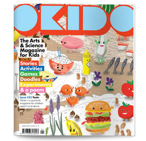 Okido Magazine Issue 23 All About Taste