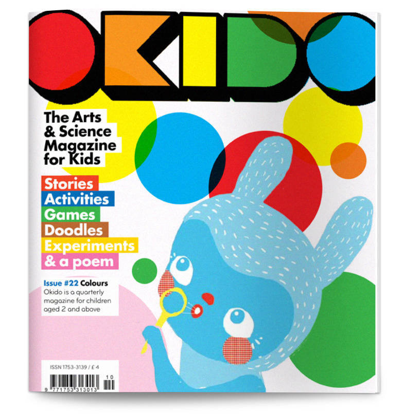 Okido Magazine Issue 22 All About Colours
