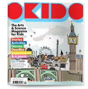 Okido Magazine Issue 21 All About London - books