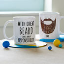 Personalised 'Great Beard' Man Mug