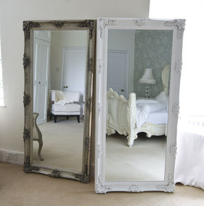 Silver Decorative Dressing Mirror - mirrors