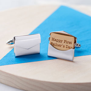 Personalised Envelope Cufflinks - shop by category