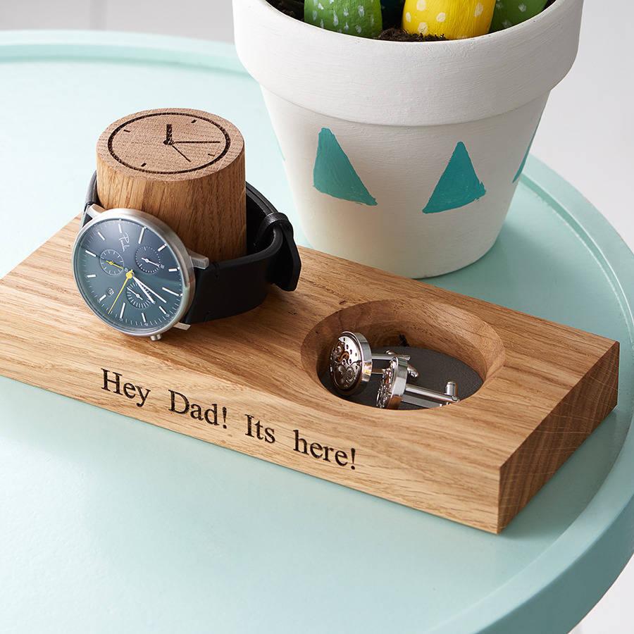 cufflink tray and watch stand by mijmoj design cufflink tray and watch stand