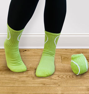 Roll Your Socks Into A Ball Tennis Socks - wimbledon inspiration