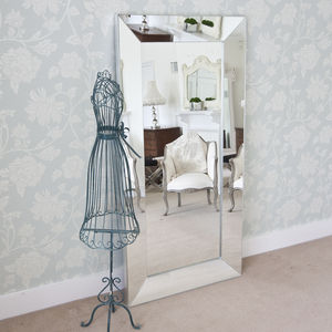 Tuscany All Glass Large Mirror - mirrors