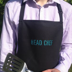 Personalised Apron - cooking & food preparation