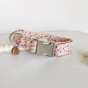 Chocolate Roses Dog Collar - dogs