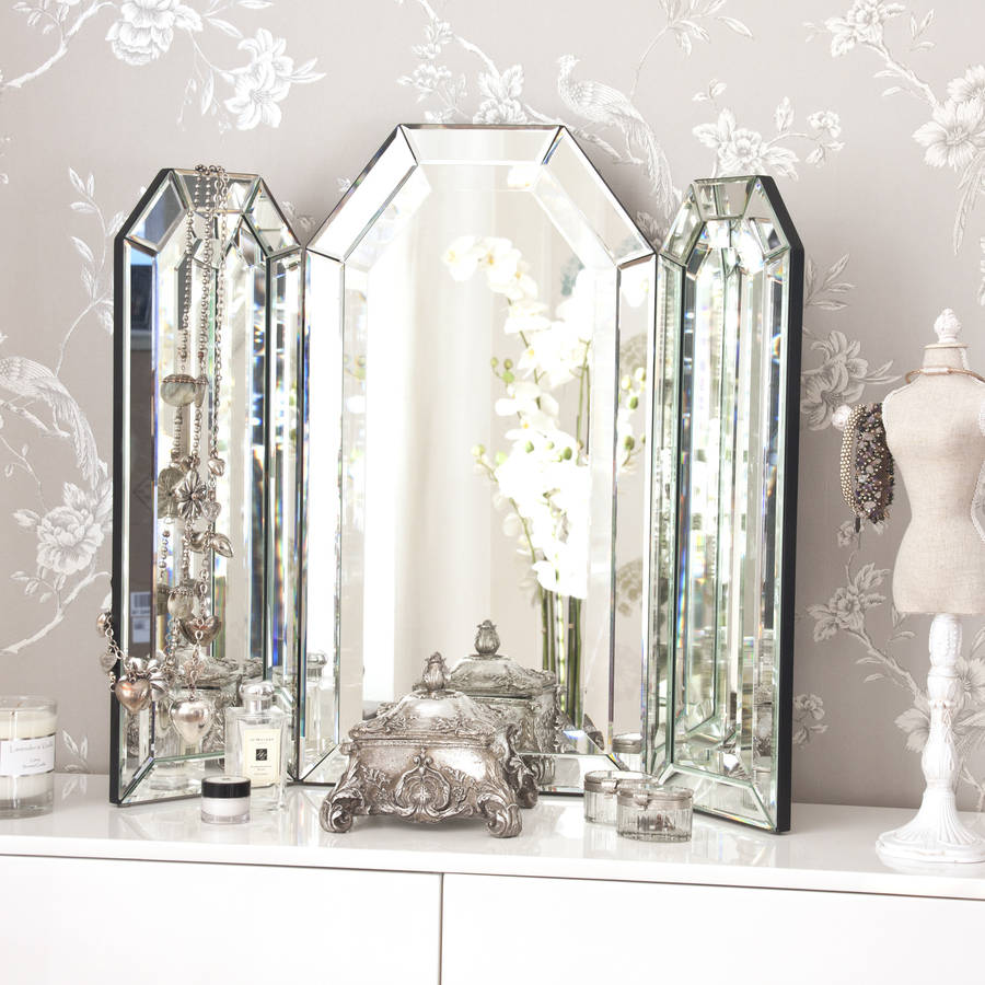 Flat Top Arch Dressing Table Mirror By Decorative Mirrors Online