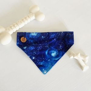 Out Of This World Slip On Dog Bandana - dogs