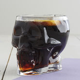 Tiki Skull Glass - halloween