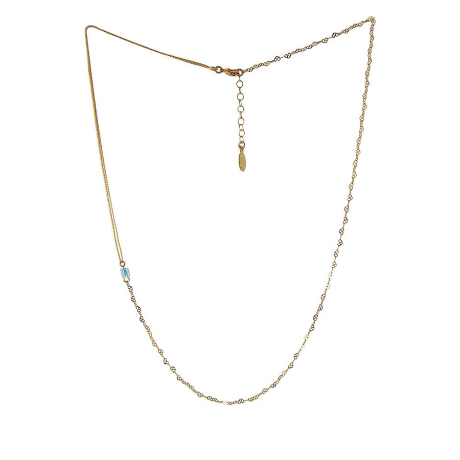 gold heart jewelry sideways asymmetrical necklace zoe lev