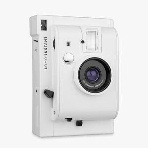 Lomo Instant Camera White Edition